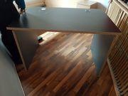 Ikea Bürotisch dunkelgrau