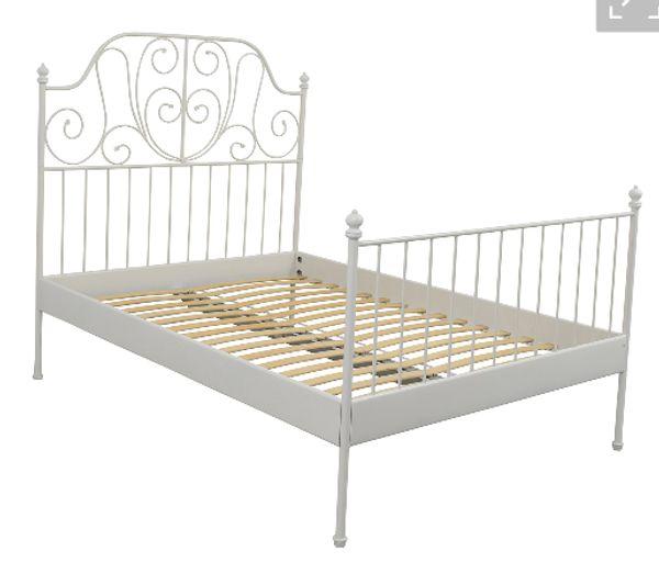 Bett IKEA LEIRVIK Und Matratze