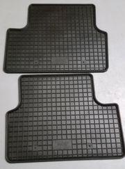 2 hintere Passformgummimatten für Mercedes