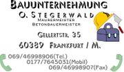 MAURERMEISTER BETONBAUMEISTER IN FRANKFURT M