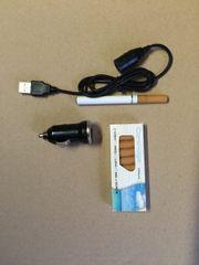 E-Zigarette mit Zubehör