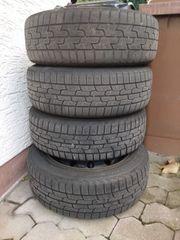 4x Winterreifen auf Stahlfelge VW