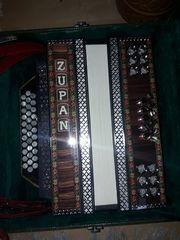 Steirische Harmonika Zupan GCF gebraucht