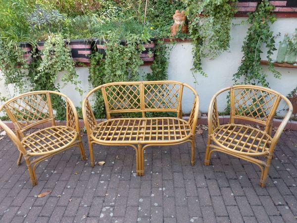 Rattan Bambus Sitzgruppe In Illingen Gartenmobel Kaufen Und