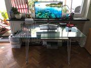 Schreibtisch Glas mit