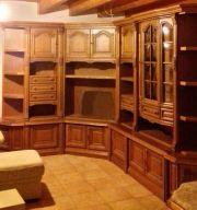 wohnwand eiche rustikal haushalt m bel gebraucht und neu kaufen. Black Bedroom Furniture Sets. Home Design Ideas