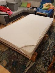 extra groß + Bett