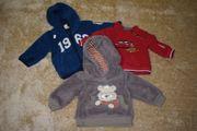 3x Pullover Strickjacken Sweatjacken für