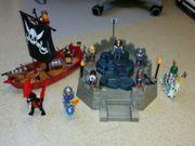 Playmobil Piratenschiff und
