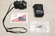 Verkaufe vollautomatische Kompaktkamera Pentax Espio