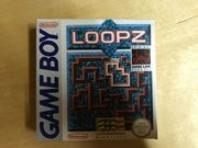 GameBoy Spiel Loopz in OVP
