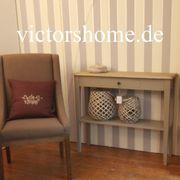Wandtisch Wandkonsole Schmales Sideboard weiss