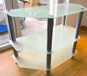 TV Tisch aus Glas