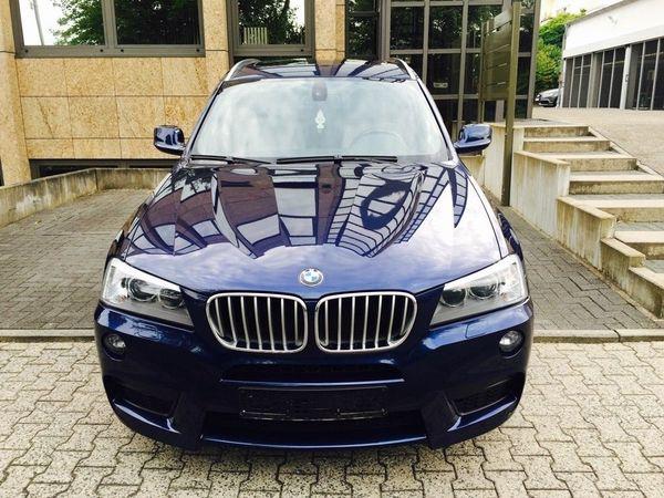 BMW X3 xDrive30d - Baden-baden Haueneberstein - BMW, X3, SUV/Geländewagen, Diesel, 190 kW, 147000 km, EZ 05/2012, Automatik, Blau Metallic. BMW X3 xDrive 3.0 d M-Paket Absolut Vollausstattung .. Panorama-Dach , Rückfahrkamera , Navigationssystem Professional , Sportpaket  - Baden-baden Haueneberstein