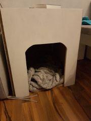 selbstgebaute hunde/ katzenhütte