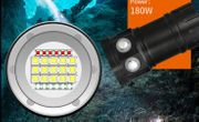 LED Taschenlampe mit Fotomodus wasserdicht