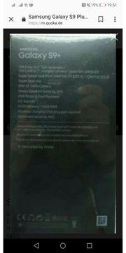 Samsung S 9 plus neu