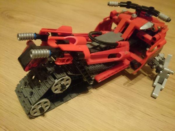 Lego Technik Schneemobil 8272