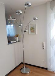 Stehlampe Edelstahl 5