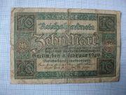Alte Reichsbanknote