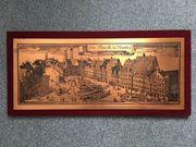 Kupferbild vom Markt zu München