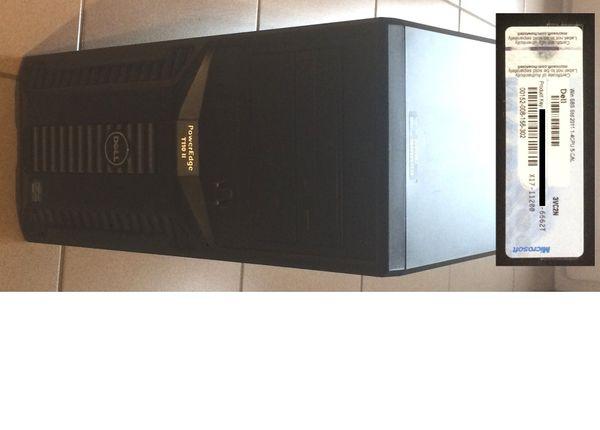 Dell PowerEdge T110 mit Xeon -