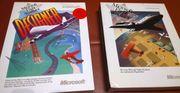 Sammlung von Flugsimulatoren Microsoft andere