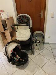 Kinderwagen inkl babyschale und sportaufsatz