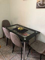 Küchentisch mit Stühlen Esszimmertisch
