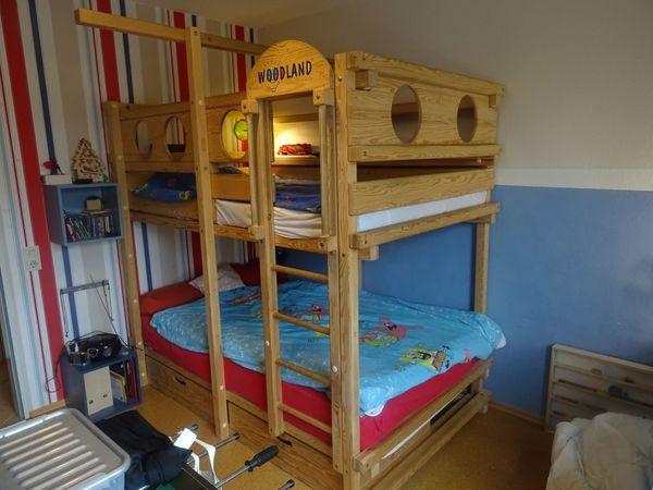 Etagenbett Gebraucht : Hochbett massivholz kaufen gebraucht dhd24.com