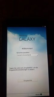 Samsung Galay Tab.