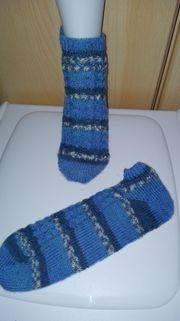 Socken selbstgestrickt neu