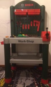 Kinderwerkbank Bosch Workstation