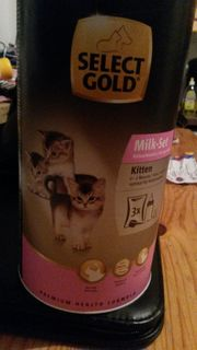 Select gold kitten milch