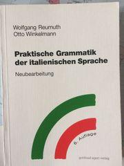 Italienische Grammatik - Reumuth-Winkelmann