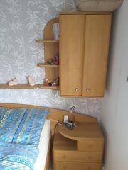 Doppelbett teilmassiv