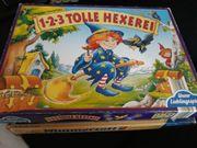 Gesellschaftspiel Spiel 123 Tolle Hexe