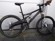 MTB Cannondale Rush schwarz Fully