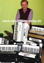 Akkordeonspieler in Bochum Bielefeld Beckum