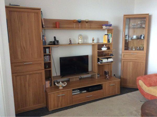 Wohnwand / Samoa-Eiche- » Wohnzimmerschränke, Anbauwände