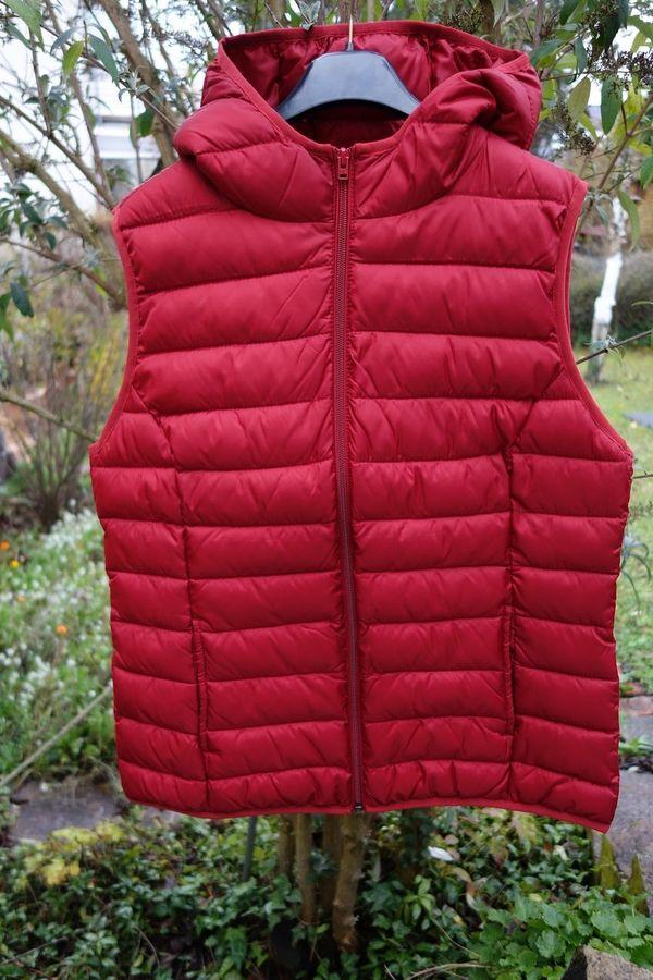 Damenweste rot, S. » Damenbekleidung