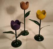 Kerzenleuchter Tulpe / Deko /
