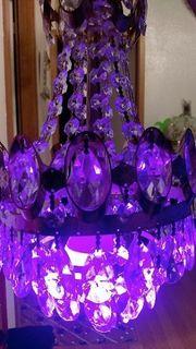 Kristall Lampe