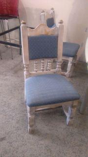 4 Stühle Shabby Style