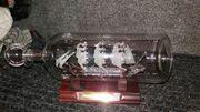 Buddelschiffe aus Glas mundgeblasen aus
