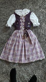 Kinderdirndl lila Gr 146-152