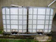 Palettentanks für Regenwasserbevorratung