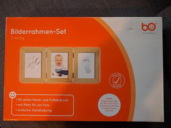 3D Abdruck-Set mit Bilderrahmen für Babys (Neu) - Karlsruhe Südstadt - Ich verkaufe dieses Original verpackte3D Abdruck-Set mit Bilderrahmen von BabyOne. Hier der Link zum Original:http://www.babyone.de/gipsabdruecke/b.o.+spielraum/3d+abdruck-set+mit+bilderrahmen/2000554435202.html - Karlsruhe Südstadt