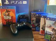 PS4 Pro 1TB 5 Spiele