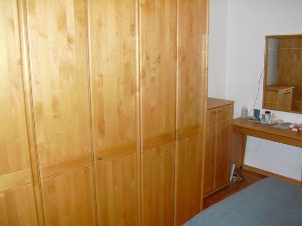 Schlafzimmer Echtholz mit Schminktisch Spiegel in Karlsruhe ...